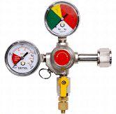 Regulador de pressão CO² HB com manômetro 1 saída