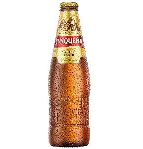 Garrafa Golden Lager 330ml - Caixa com 24 unidades