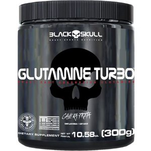 GLUTAMINA TURBO BLACK SKULL 300G