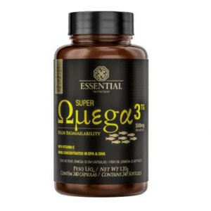 SUPER OMEGA 3 TG (60CAPS) - ESSENTIAL NUTRITION
