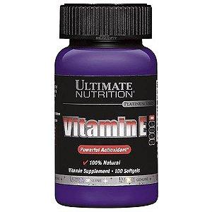 VITAMIN E (100CAPS) - ULTIMATE NUTRITION