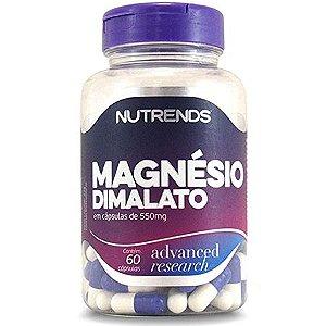 Magnésio Dimalato 60 cápsulas, Nutrends