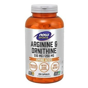 L-ARGININA & ORNITINA (500mg / 250mg) - 250 cap