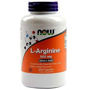 L-ARGININE 500mg - 250 cap