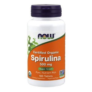 SPIRULINA 500mg - 120 cap (NATURAL)