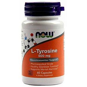 TIROSINA 500MG (L-TYROSINE) - 60 cap