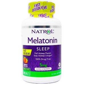 Melatonina 5 90CAPS FAST DISSOLVE NATROL