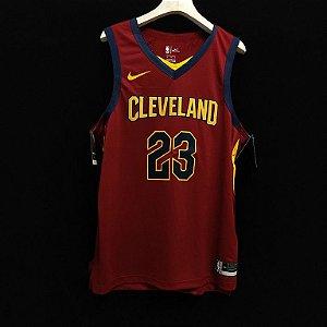 Camisa de Basquete Cleveland Cavaliers versão Authentic Jogador - 23 Lebron James