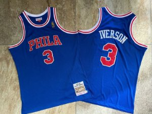 Camisa de Basquete Philadelphia 76ers 96/97 Hardwood Classics M&N- 3 Allen Iverson