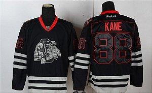 "Camisa de Hockey NHL Chicago Blackhawks ""Crânio"""