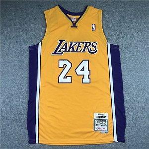 Camisa de Basquete Los Angeles Lakers 2006/07 - Kobe Bryant 24