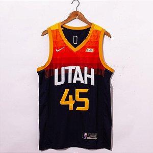 Camisa de Basquete Utah Jazz - 45 Donovan Mitchell