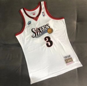 Camisa de Basquete Philadelphia 76ers All Star Game 2001 - Allen Iverson 3