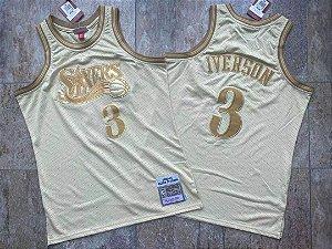 Camisa de Basquete Philadelphia 76ers Midas Edition - 3 Allen Iverson