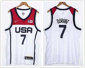 Camisas de Basquete USA Olimpíadas de Tóquio 2020 / 2021