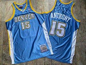 Camisa de Basquete Denver Nuggets 2003/2004 Hardwood Classics M&N Carmelo Anthony
