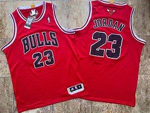 Camisa de Basquete Michael Jordan Chicago Bulls Authentic Adidas Bordado Denso