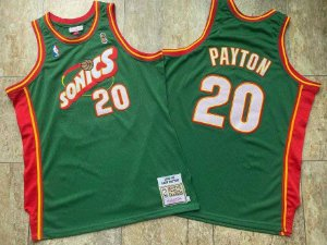 Camisa de Basquete Seattle Supersonics 1995/1996 Hardwood Classics M&N - Gary Payton 20