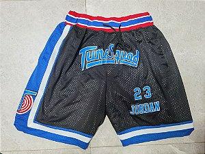 Shorts Just Don com bolsos Tunesquad (Space Jam) - Michael Jordan 23