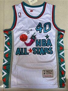 Camisa de Basquete retrô 1995 All Star Game - Shawn Kemp 40