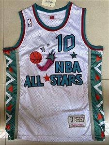 Camisa de Basquete retrô 1995 All Star Game - Charles Barkley 10