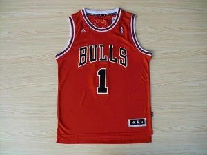 Camisas de Basquete Retrô Chicago Bulls - 1 Derrick Rose