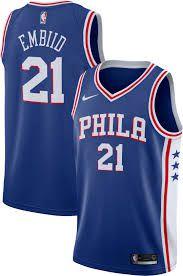Camisa Philadelphia 76ers - 21 Joel Embiid - 25 Ben Simmons