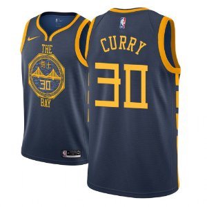 Camisas Golden State Warriors - City Edition - 30 Stephen Curry - 11 Klay Thompson