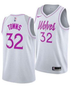 Camisa Minnesota Timberwolves - City Edition / Earned Edition - 32 Karl-Anthony Towns