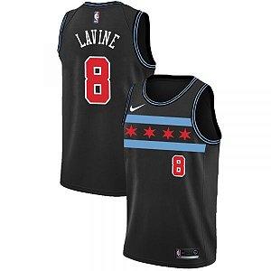 Camisas Chicago Bulls - City Edition - 8 Lavine, 24 Markkanen, 23 Jordan