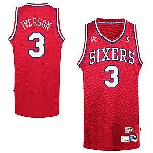 Camisas Retrô Philadelphia 76ers - 3 Allen Iverson