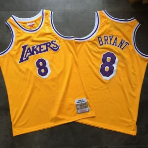 Camisa  Los Angeles Lakers Hardwood Classics Authentic - 8 Kobe Bryant
