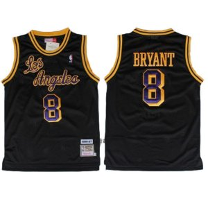 Camisas Retrô Los Angeles Lakers - 8 Kobe Bryant
