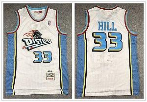 Camisas Retrô Detroit Pistons - 33 Grant Hill
