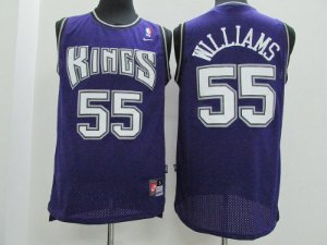 Camisas Retrô Sacramento Kings - 55 Jason Williams