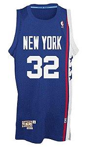 Camisas Retrô New York Nets (ABA) - 32 Julius Erving (Dr. J.)