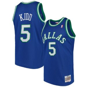 Camisas Retrô Dallas Mavericks - 5 Jason Kidd