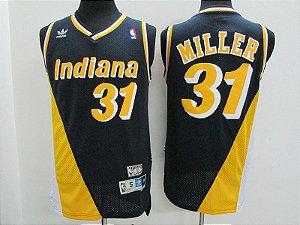 Camisas Retrô Indiana Pacers - 31 Reggie Miller
