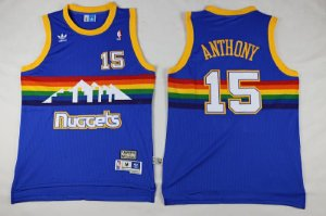 Camisas Retrô Denver Nuggets - 3 Allen Iverson, 55 Mutombo, 15 Carmelo Anthony