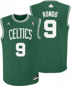Camisa Retrô Boston Celtics - 9 Rondo