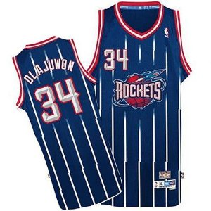 Camisas Retrô Houston Rockets - 34 Olajuwon, 22 Drexler, 1 McGrady