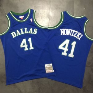 Camisas Retrô Dallas Mavericks Authentic Classics M&N - Nowitzki 41, Jason Kidd 05