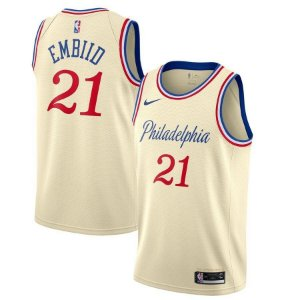 Camisas Philadelphia 76ers - City Edition - 21 Joel Embiid - 25 Ben Simmons