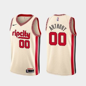 Camisas Portland Trailblazers - City Edition - 0 Lillard, 3 McCollum, 00 Anthony