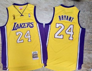 Camisas Los Angeles Lakers Retro Especial Finals 08/09 - 24 Kobe Bryant