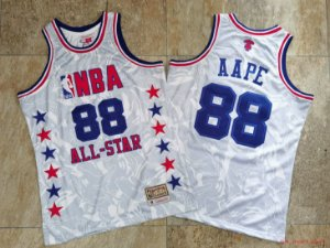 Camisas Bape Edition Epecial All Star Game Hardwood Classics