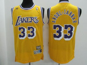 Camisas Los Angeles Lakers retrô - 32 Magic Johnson, 33 Abdul-Jabbar, 13 Chamberlain
