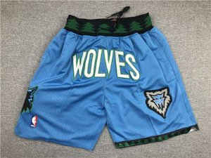 Shorts NBA Just Don - Seattle Supersonics, Atlanta Hawks, Minnesota Timberwolves, Washington Bullets