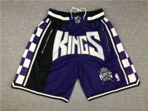 Shorts NBA Just Don - Sacramento Kings, Memphis Grizzilies