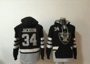 Blusas NFL Las Vegas Raiders - 34 Jackson, 52 Mack